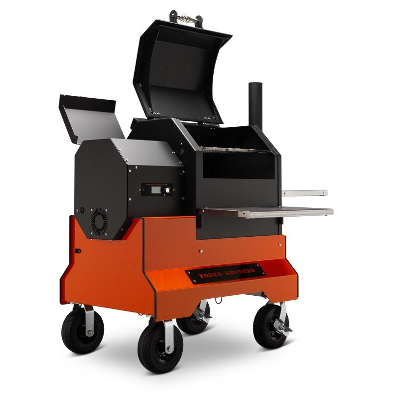 yoder smokers ys480s pellet grill acs wifi competition cart 12