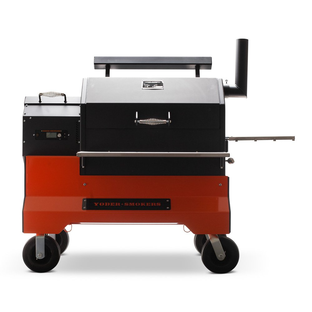 Yoder Smokers YS-640 Competition Grill at West Coast BBQ in San Diego