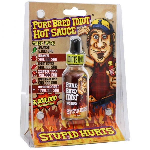 Ass Kickin Pure Bred Idiot Hot Sauce