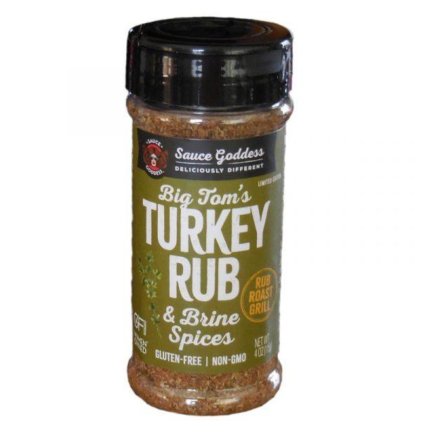 Sauce Goddess Turkey Rub