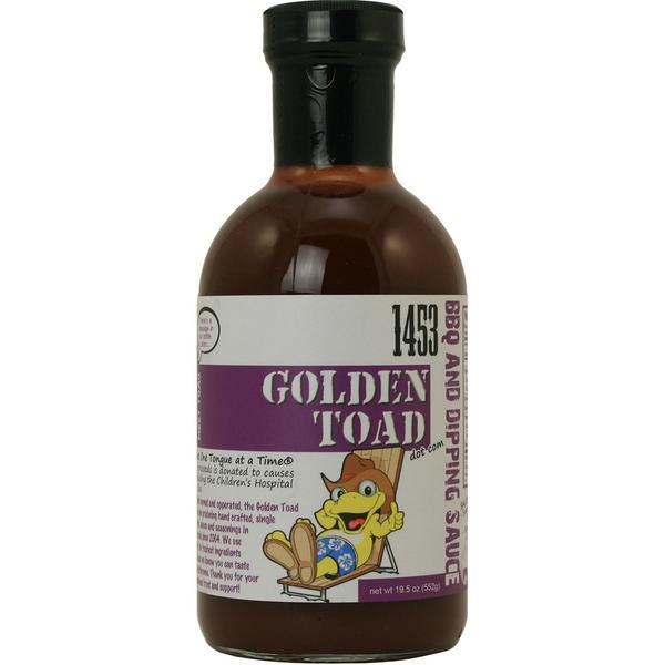 Golden Toad 1453 Bbq Sauce