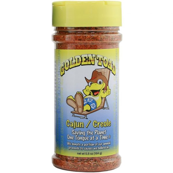 Golden Toad Cajun Creole Rub