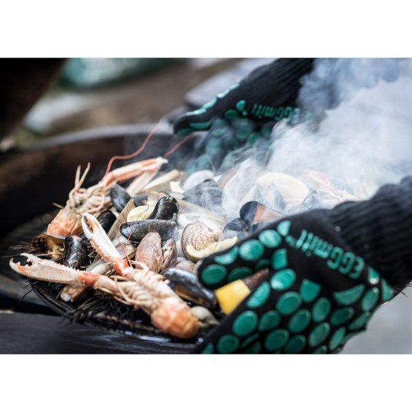 Big Green Egg EGGmitt® BBQ Glove Mitts