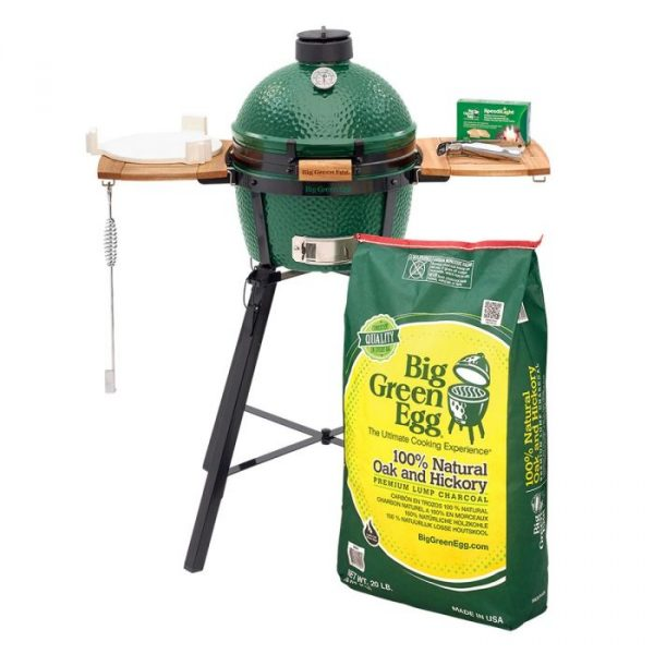 big green egg minimax with nest and mates