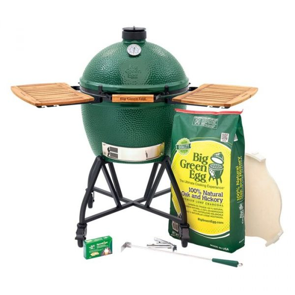 big green egg xl with nest and mates