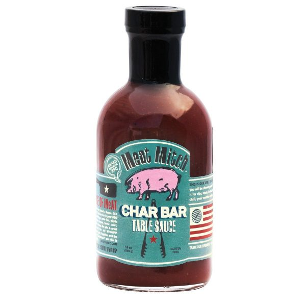 Meat Mitch Char Bar Table Sauce