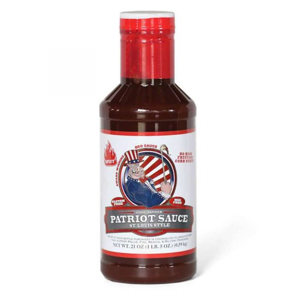 Code 3 Spicy Patriot Sauce