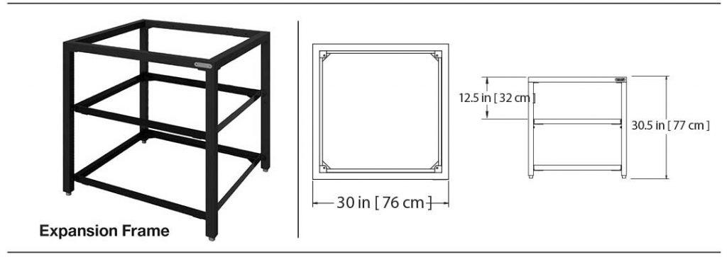 modular nest expansion frame