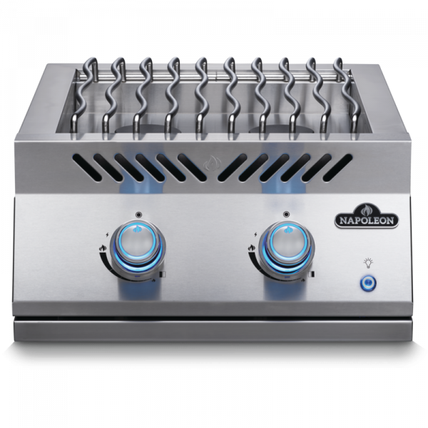Built-in 700 Series Dual Range Top Burner with Stainless Steel Cover