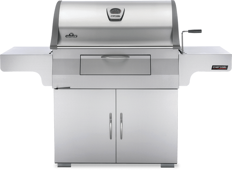 Charcoal Professional Cart Grill
