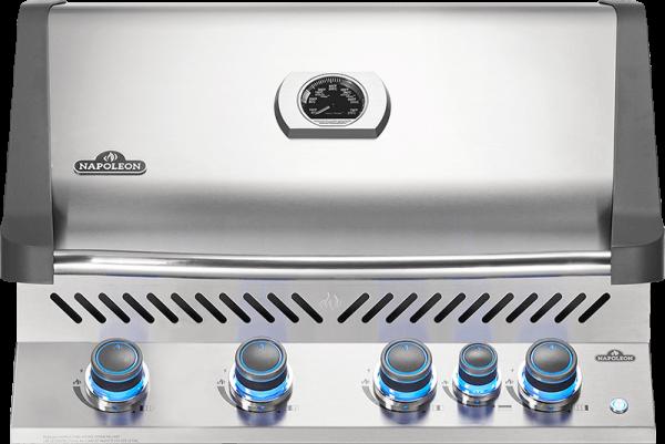 Built-in Prestige® 500 RB with Infrared Rear Burner