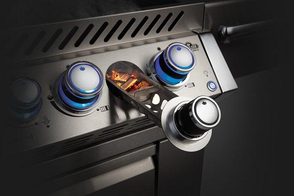 Built-in Prestige PRO™ 665 RB with Infrared Rear Burner