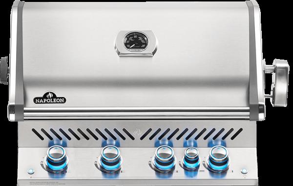 Built-in Prestige PRO™ 500 RB with Infrared Rear Burner