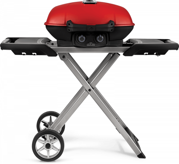 TravelQ™ 285X with Scissor Cart and Griddle