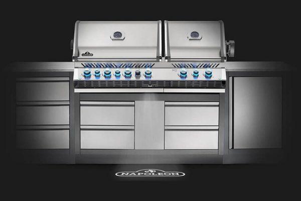 Built-in Prestige PRO™ 825 RBI Infrared Bottom & Rear Burners