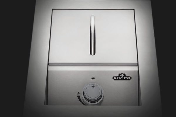 Built-in 500 Series Single Range Top Burner with Stainless Steel Cover