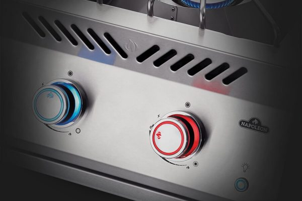 Built-in 700 Series Power Burner with Stainless Steel Cover